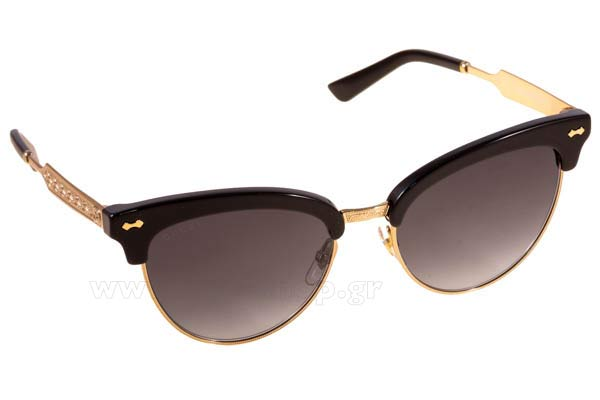 Γυαλια Ηλιου Gucci GG4283S ANW9O 	BLCK GOLD (DARK GREY SF) Τιμή: 205,00