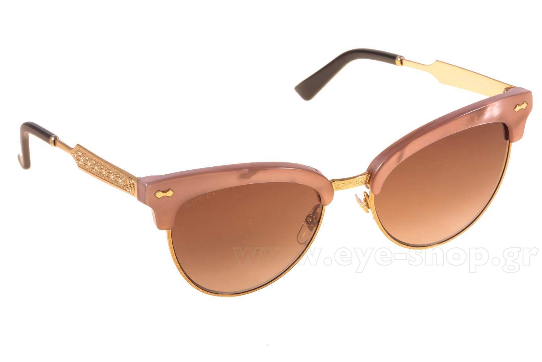 74e2fdca61 Γυαλια Ηλιου Gucci GG4283S R4JJ6 PKMTHRPGD (BROWN SF) 5 size 55 Τιμή  197
