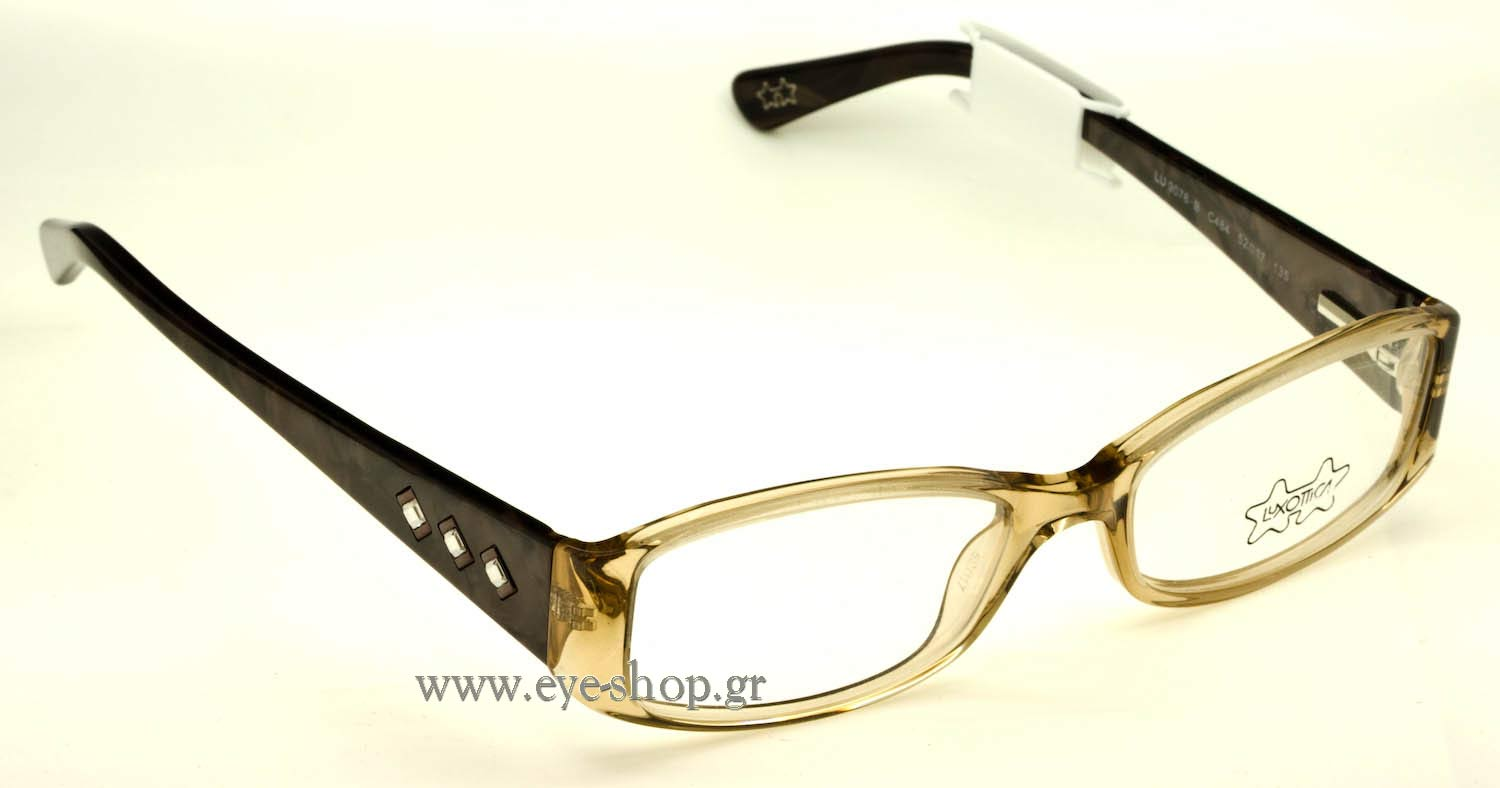 Eyeglass Frames Not Made By Luxottica : EYEWEAR LUXOTTICA 9076B C484 52? Women 2017 ver1.