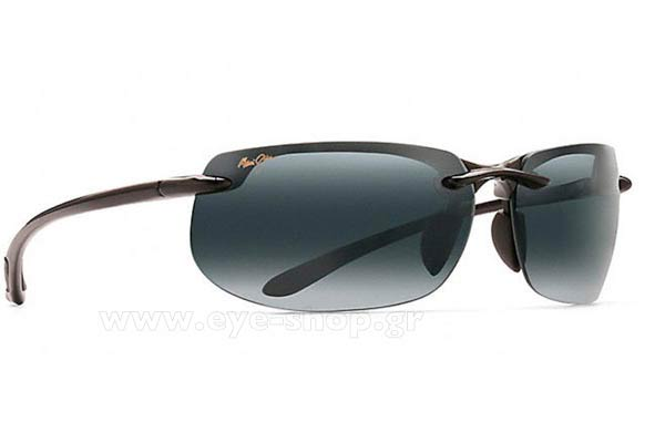 Γυαλια Ηλιου Maui Jim BANYANS 412-02 - Gray double gradient mirror Polarized Plus2 (Rxable +3,00 - -2,50) Τιμή: 185,99