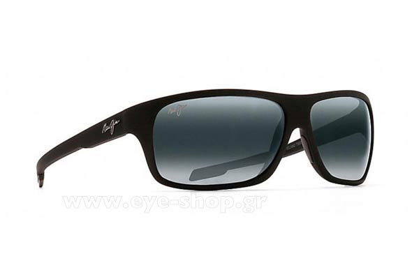 Γυαλια Ηλιου Maui Jim ISLAND TIME 237-2M - Gray double gradient mirror Polarized Plus2 (Rxable +3,00 - -3,50) Τιμή: 204,00