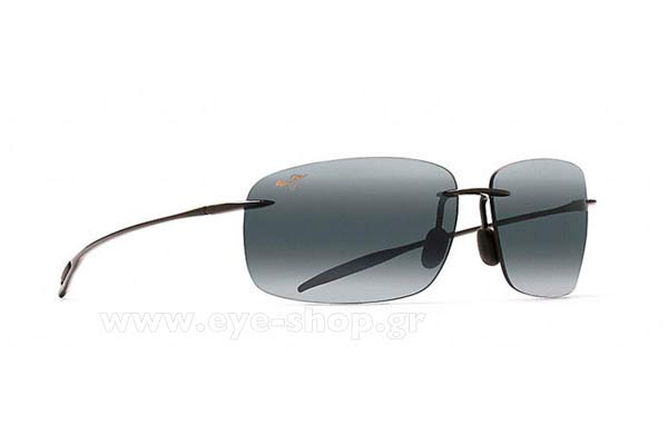 Γυαλια Ηλιου Maui Jim BREAKWALL 422-02 - Gray double gradient mirror Polarized Plus2 Τιμή: 136,99