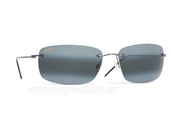 Γυαλια Ηλιου Maui Jim FRIGATE 716-06 - MauiPure Gray double gradient mirror Polarized Plus2 Τιμή: 256,20