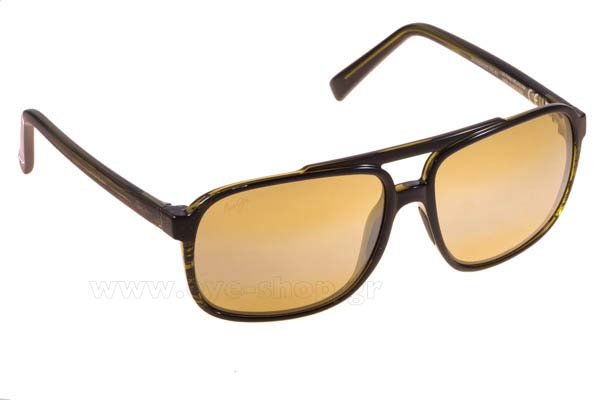 Γυαλια Ηλιου Maui Jim SILVERSWORD SGT-BG Olive Stripe High Trans Τιμή: 225,00