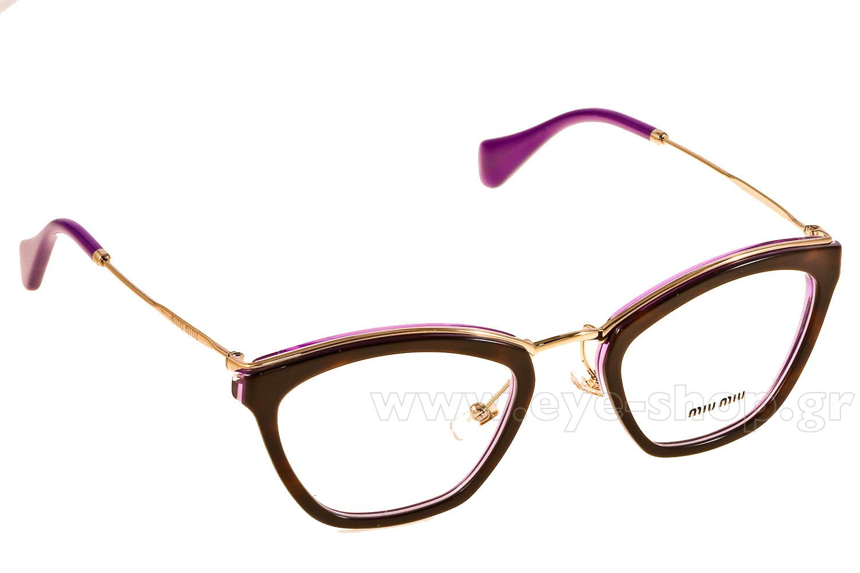 Miu Miu Tortoise Eyeglasses