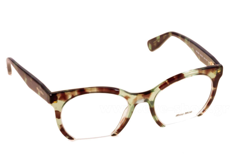 Οπτικά Γυαλιά οράσεως Miu Miu 09NV UAG1O1 size 50 Τιμή  96 0cc871bbe7b
