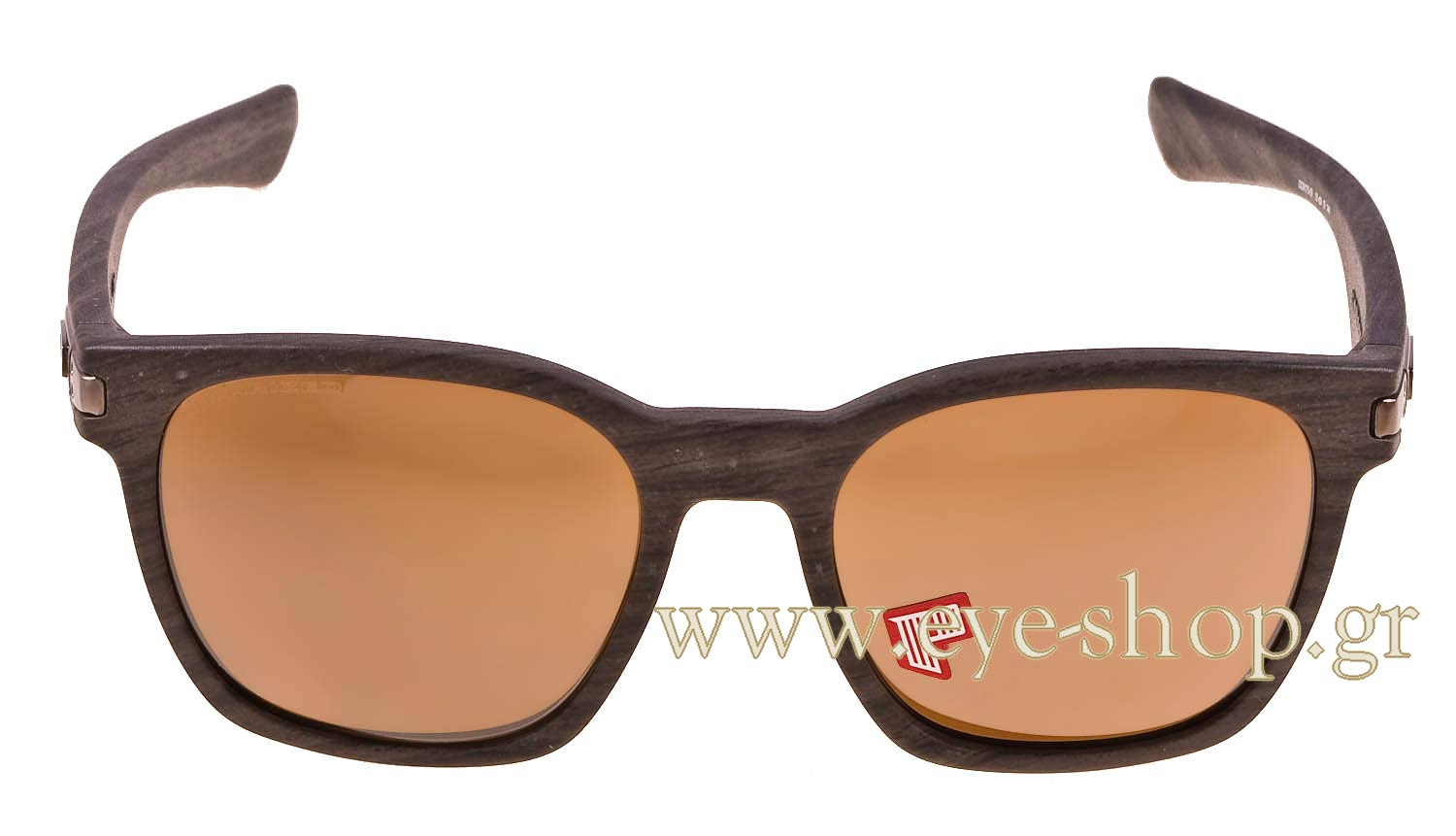 oakley garage rock polarized wood grain