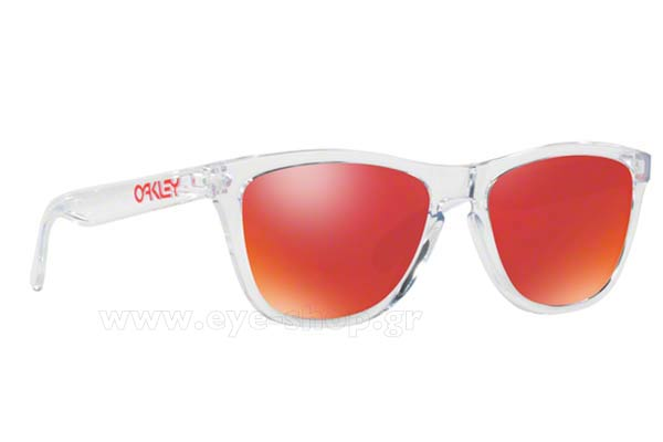Γυαλια Ηλιου Oakley Frogskins 9013 A5 Crystal Clear Torch Iridium Τιμή: 80,23