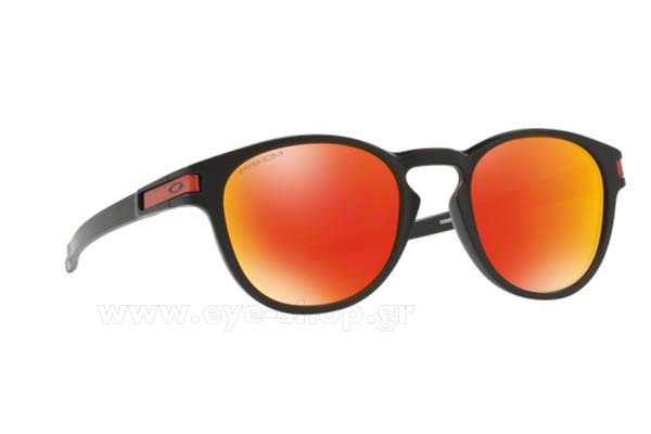 Γυαλια Ηλιου Oakley LATCH 9265 29 Mt Blacl Prizm Ruby iridium Τιμή: 149,00