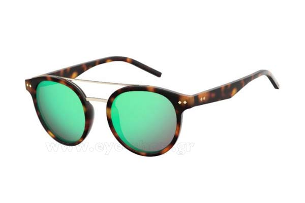 Γυαλια Ηλιου Polaroid PLD-6031-S N9P5Z MATT HVNA (GREY MLT GREEN) Polarized size 49 Τιμή: 64,00