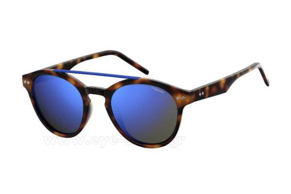 Γυαλια Ηλιου Polaroid PLD-6030-S N9P (5X) MATT HVNA (GREY SP BLU PZ) Polarized size 50 Τιμή: 54,99
