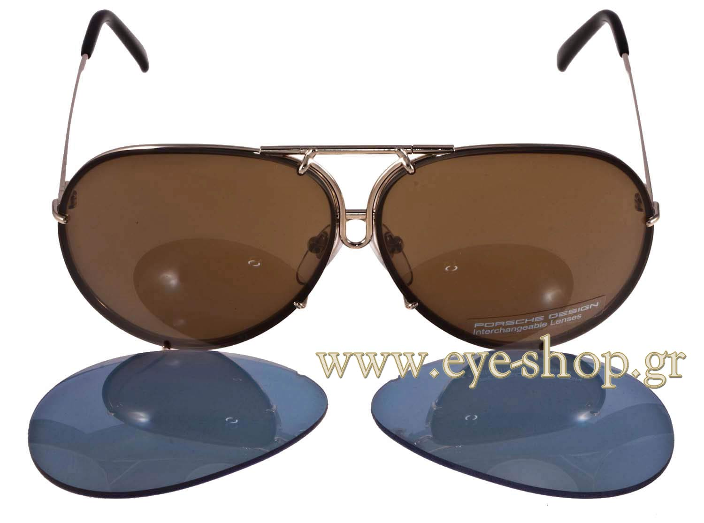 Sunglasses Porsche Design P8478 A Intercha 63 216 Men 2018