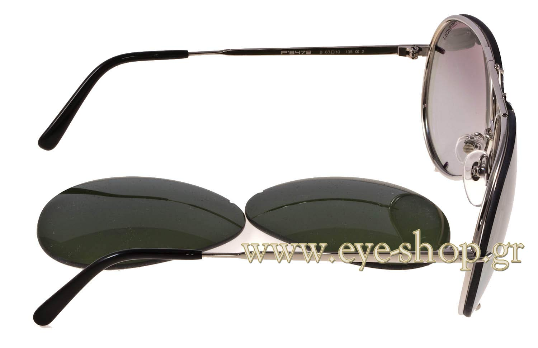 Sunglasses Porsche Design P8478 B Intercha 63 216 Men 2018