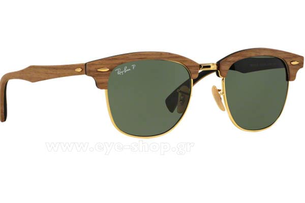 RAYBAN Clubmaster Wood 3016M