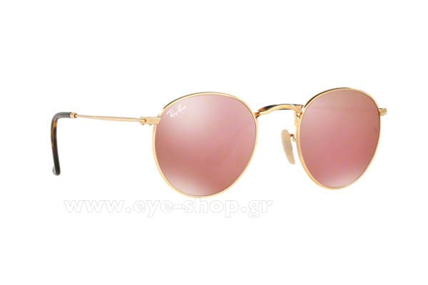 44f560d18a RAYBAN 3447N ROUND METAL 001 Z2 47
