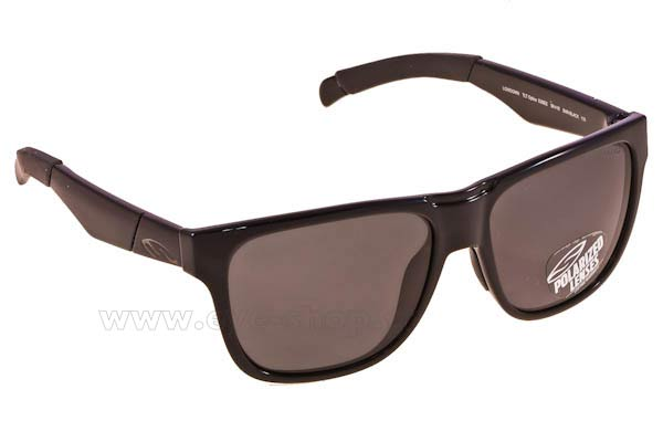 Γυαλια Ηλιου Smith LOWDOWN D28EE  SHN BLACK (GREY PZ) Polarized size 56 Τιμή: 101,00