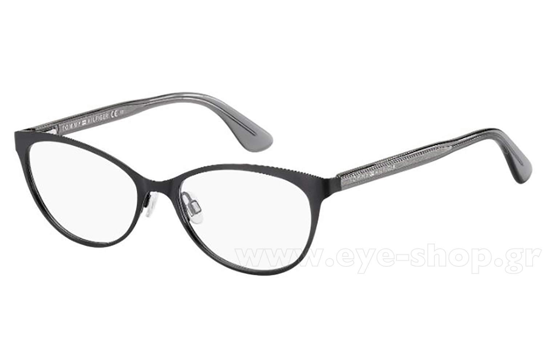 f41343f8 Cateye , Color matte black metal. Enlarge Colors OutOfStock · Glasses Tommy  Hilfiger ...