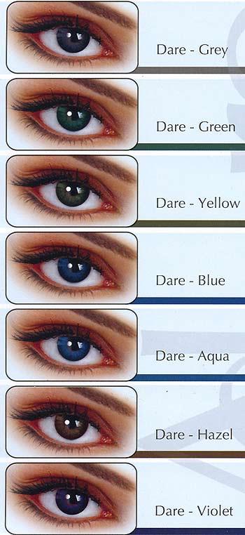 Φακοί επαφής με χρώμα σε όλες τις μάρκες
