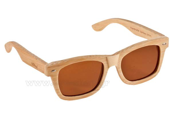 Γυαλια Ηλιου Artwood-Milano MyWay-04 Brown Polarized Natural Bamboo - size 54 Τιμή: 96,00
