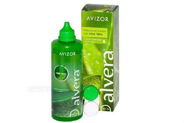 Υγρό καθαρισμού φακών επαφής AVIZOR Alvera Avizor 350ml