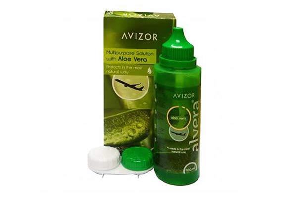 Υγρό καθαρισμού φακών επαφής AVIZOR Alvera Avizor 100ml