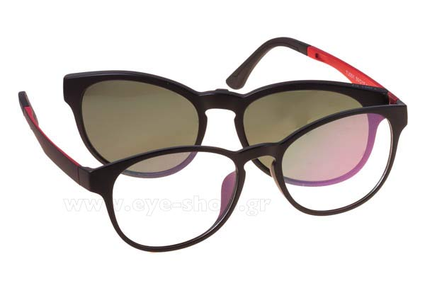 6aeb443b28 Οπτικά Γυαλιά οράσεως Bliss Ultra 001 clipon included C2 b-memory polarized  Magnetic Clipon size