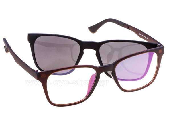 b6fae41b2c Οπτικά Γυαλιά οράσεως Bliss Ultra 8208 clipon include C6 tr-90 polarized  Magnetic Clipon size