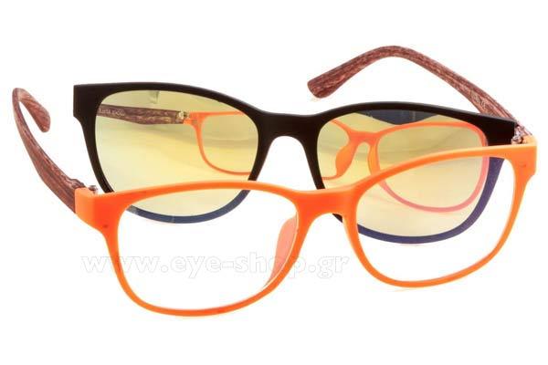 Οπτικά Γυαλιά οράσεως Bliss Ultra 2117 RedBlack size 0 Τιμή  59 5361007e112