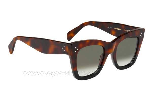 Γυαλια Ηλιου Celine CL-41090S AEA  (Z3) HVNBK HVN (BROWN DEGRADE') size 50 Τιμή: 228,00