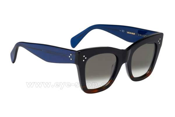 Γυαλια Ηλιου Celine CL-41090S QLT  (Z3)	BLUEHVNBL (BROWN DEGRADE') size 50 Τιμή: 228,00