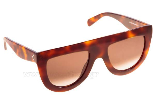 Γυαλια Ηλιου Celine CL-41398S 05L  (Z3)	HAVANA (BROWN DEGRADE') size 45 Τιμή: 303,20
