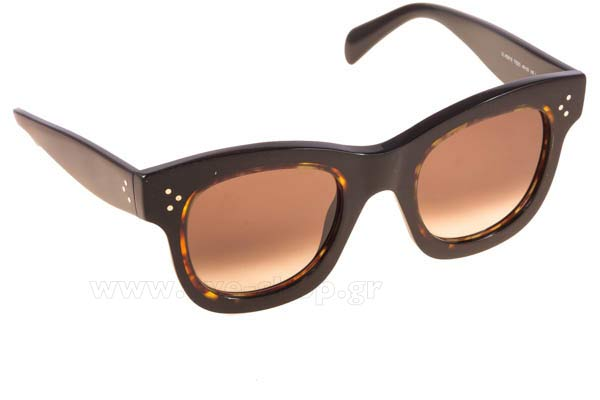 Γυαλια Ηλιου Celine CL-41397S T7DZ3 	BLCK HVNA (BROWN DEGRADE') size 45 Τιμή: 272,98