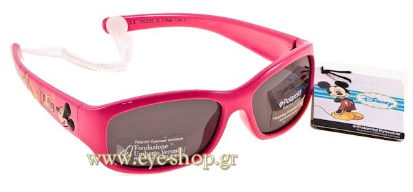 Γυαλια Ηλιου Disney-by-Polaroid 0205 D  -  Polarized size 0 Τιμή: 45,00