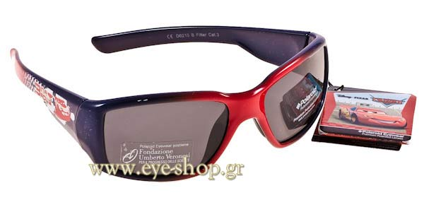 Γυαλια Ηλιου Disney-by-Polaroid cars-0210 B  -  Polarized size 1 Τιμή: 46,00