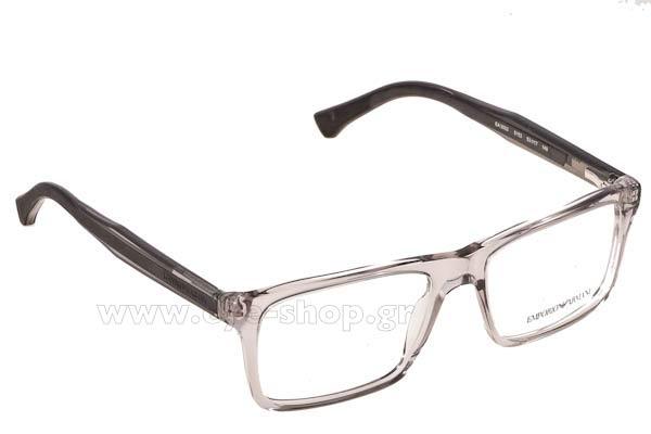 8fc331f44a Οπτικά Γυαλιά οράσεως Emporio Armani 3002 5153 size 53 Τιμή  104