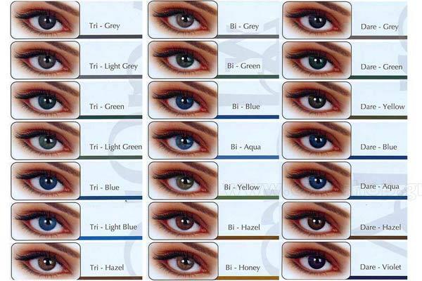 1f5c05d30c ΦΑΚΟΙ ΕΠΑΦΗΣ Eyemed Adore Bi-Tone 3months Έγχρωμοι Eye-Shop