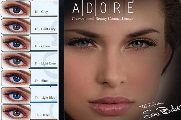 2c36f05c7b ΦΑΚΟΙ ΕΠΑΦΗΣ Eyemed Adore Tri-Tone 3months Έγχρωμοι Eye-Shop