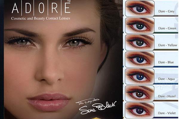 a8e3153b63 ΦΑΚΟΙ ΕΠΑΦΗΣ Eyemed Adore Dare 3months Έγχρωμοι Eye-Shop