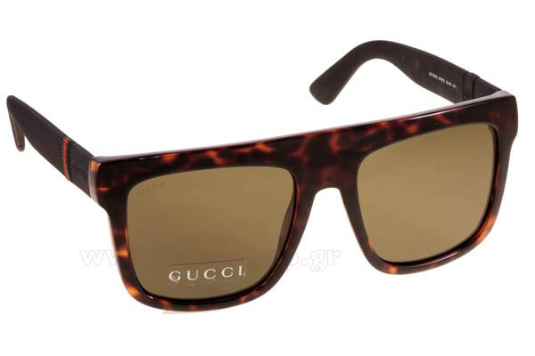 Γυαλια Ηλιου Gucci GG-1116S M1W (1E) HVNA BLCK (GREEN) size 7d3fe615a3d