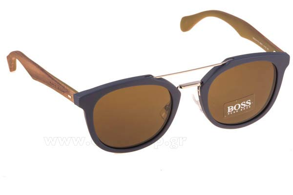 Γυαλια Ηλιου Hugo-Boss BOSS-0777-S RBFEC BLUEBROWN (BROWN) size b22cef710b2