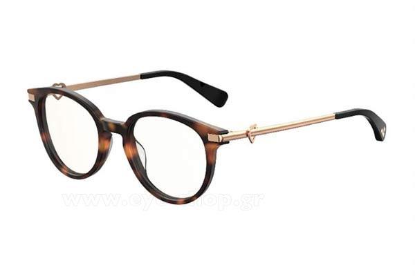 29b493d96c Οπτικά Γυαλιά οράσεως Moschino Love MOL008 S 2IK (99) size 49 Τιμή  124
