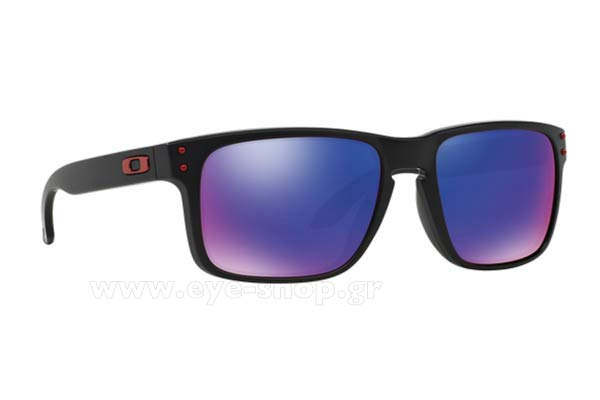Γυαλια Ηλιου Oakley Holbrook-9102 36 Red Iridium Matte Black size 55 Τιμή: 94,49