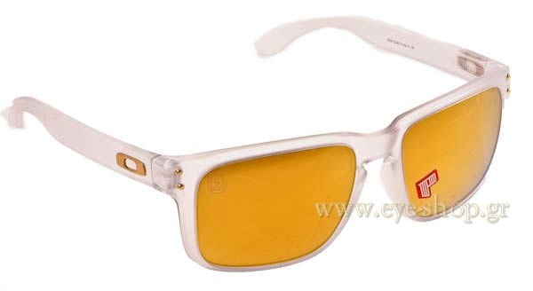 Γυαλια Ηλιου Oakley Holbrook-9102 42 Polarized Gold Series shaun White -  Clear- 24kGold a7dd295648d