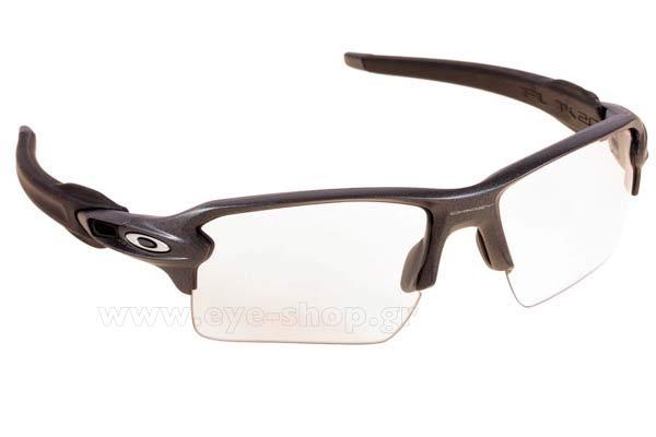 Γυαλια Ηλιου Oakley FLAK-2.0-XL-9188 16 Steel Clear Black Irid Photochromic 20b8cf798fe