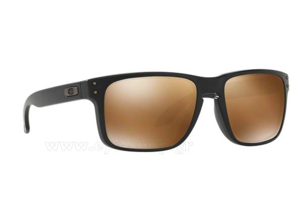 Γυαλια Ηλιου Oakley Holbrook-9102 D7 Mt Black Prizm Tungsten Polarized size 55 Τιμή: 147,96