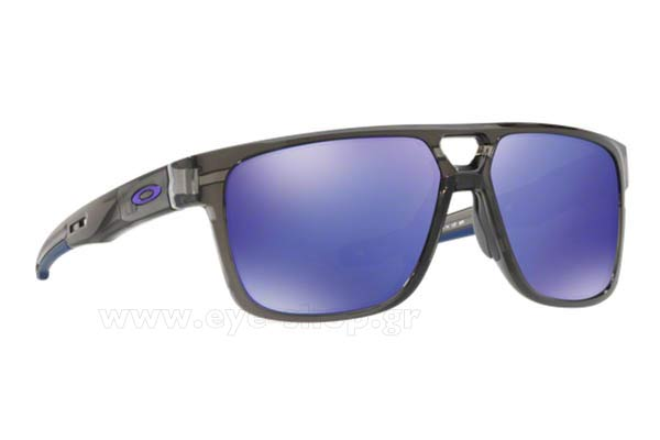 Γυαλια Ηλιου Oakley CROSSRANGE-PATCH-9382 02 Grey Smoke Violet Iridium size 60 Τιμή: 137,98