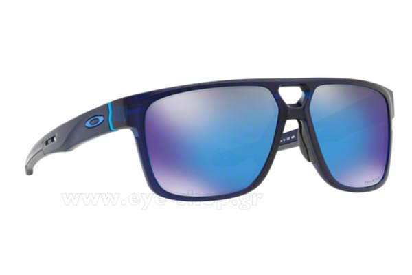 Γυαλια Ηλιου Oakley CROSSRANGE-PATCH-9382 03 Mt Translucent Blue Prizm Sapphire Iridium size 60 Τιμή: 139,98