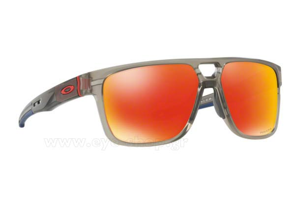 Γυαλια Ηλιου Oakley CROSSRANGE-PATCH-9382 05 Mt Grey Ink Prizm Ruby size 60 Τιμή: 133,88