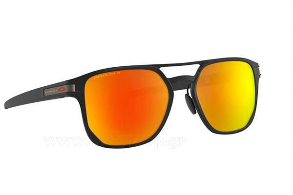 Γυαλια Ηλιου Oakley Latch-Alpha-4128 05 prizm ruby polarized size 53 Τιμή: 249,97