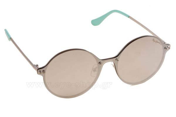 f0ff4f0f53 Γυαλια Ηλιου Pepe-Jeans Jessy-5135 C3 silver grey size 56 Τιμή  91